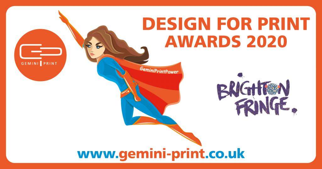 Brighton Fringe – Design for Print Award