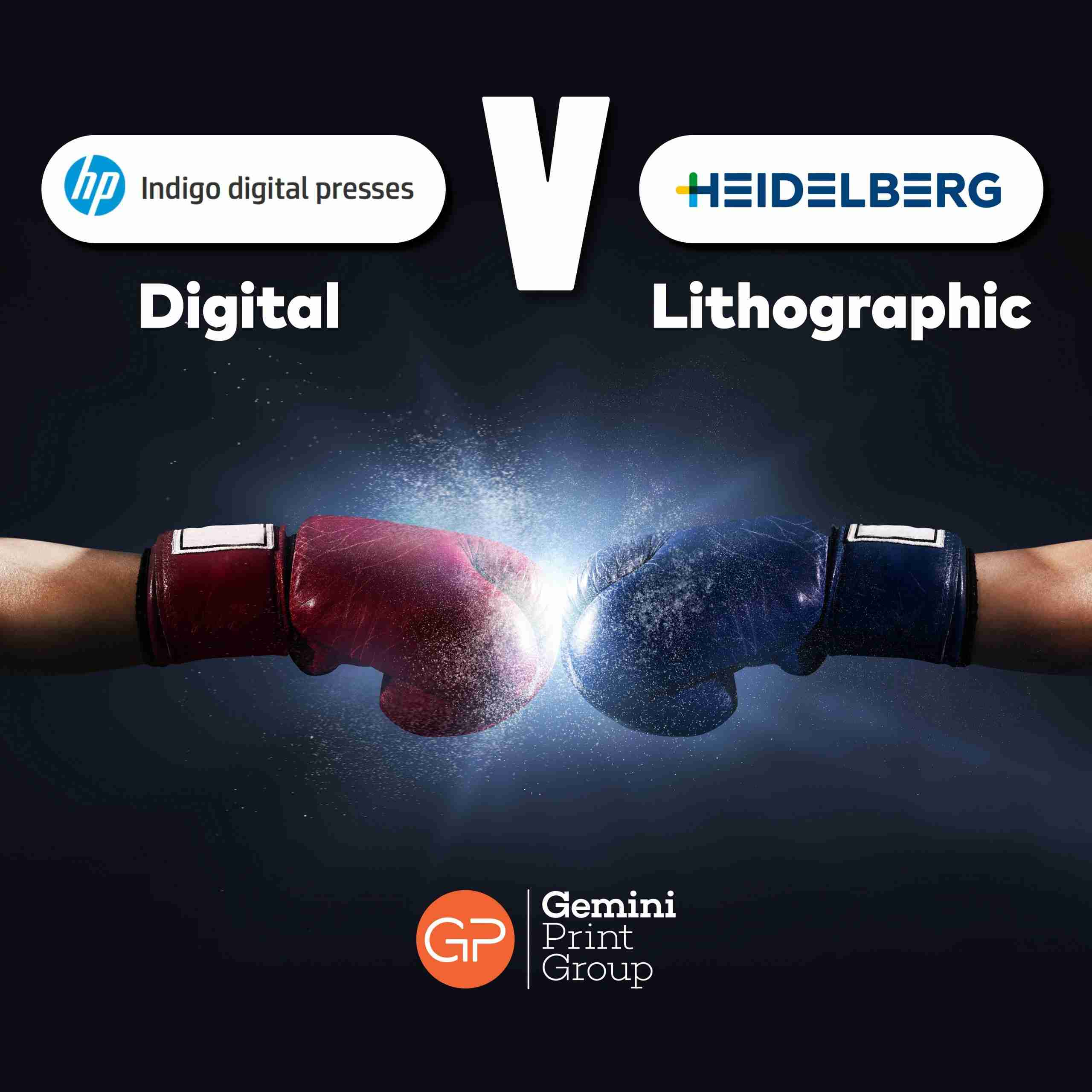 Digital vs Litho Printing