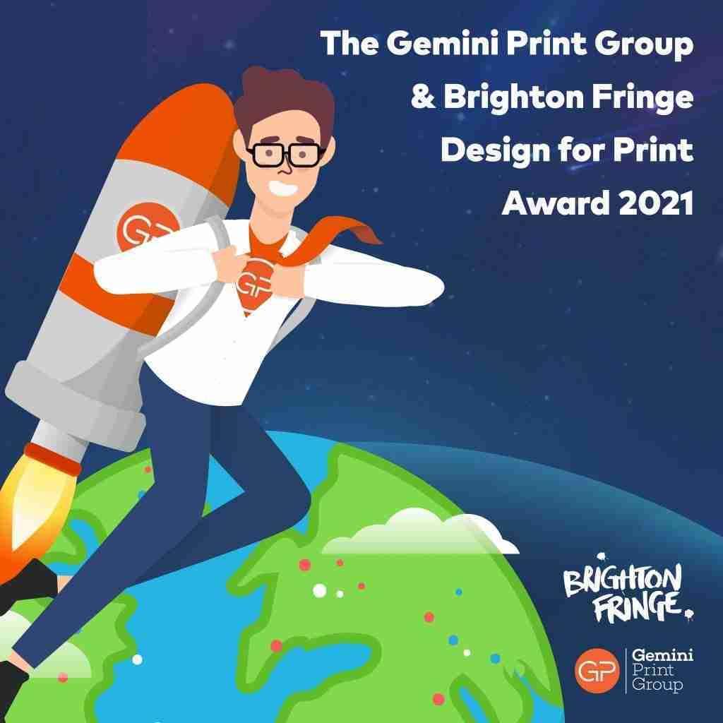 Design for Print Award - Brighton Fringe